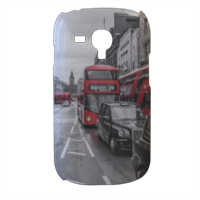 London red and white Cover samsung galaxy s3 mini 3d