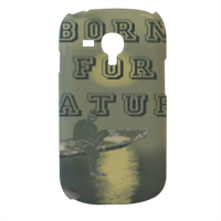 Born for Nature Cover samsung galaxy s3 mini 3d