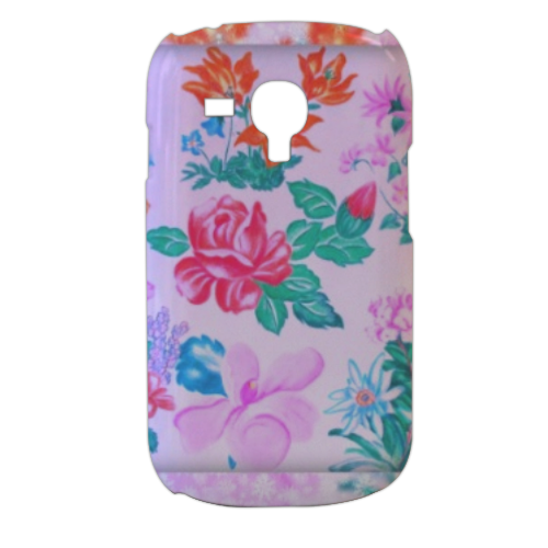Flowers Cover samsung galaxy s3 mini 3d