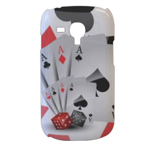Poker Cover samsung galaxy s3 mini 3d