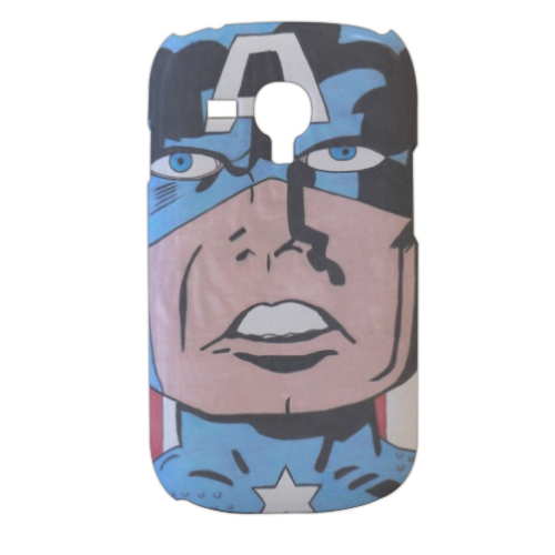 CAPITAN AMERICA 2014 Cover samsung galaxy s3 mini 3d