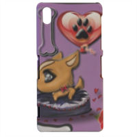 Collana I Love My Dog Cover sony xperia Z2 3d