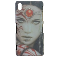 Warrior woman Cover sony xperia Z2 3d