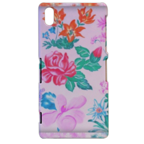 Flowers Cover sony xperia Z2 3d