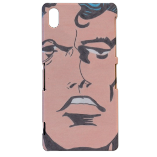 SUPERMAN 2014 Cover sony xperia Z2 3d