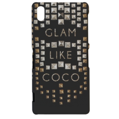 Glam Like Coco Cover sony xperia Z2 3d