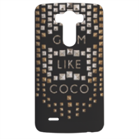 Glam Like Coco Cover LG G3 stampa 3d