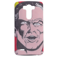 BLACK ADAM Cover LG G3 stampa 3d