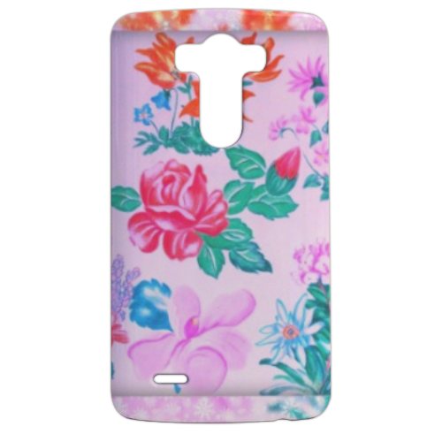 Flowers Cover LG G3 stampa 3d