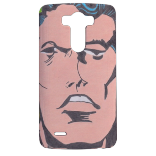 SUPERMAN 2014 Cover LG G3 stampa 3d