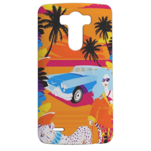 Rich Summer  Cover LG G3 stampa 3d