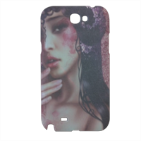 Oriental Woman Cover samsung galaxy note2 3d