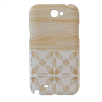 Bamboo and Japan Cover samsung galaxy note2 3d