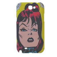 BLACK WIDOW Cover samsung galaxy note2 3d