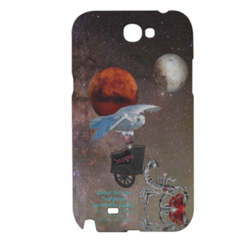 Zodiac Fortune Sco Cover samsung galaxy note2 3d