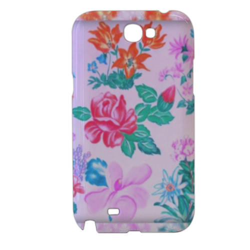 Flowers Cover samsung galaxy note2 3d