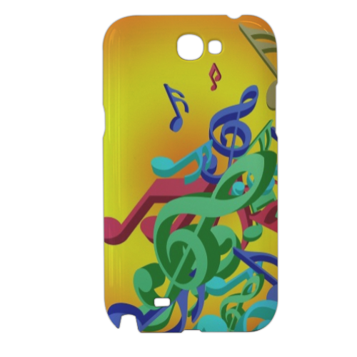 Musica Cover samsung galaxy note2 3d
