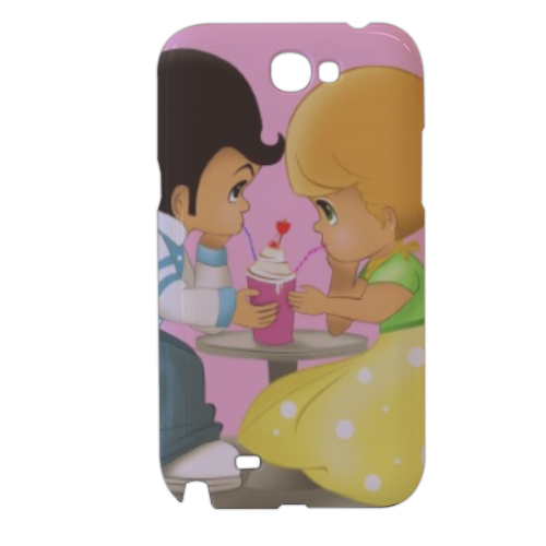 Baby Grease Cover samsung galaxy note2 3d
