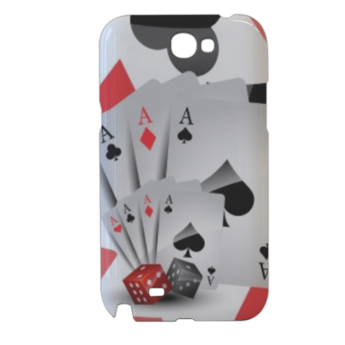 Poker Cover samsung galaxy note2 3d