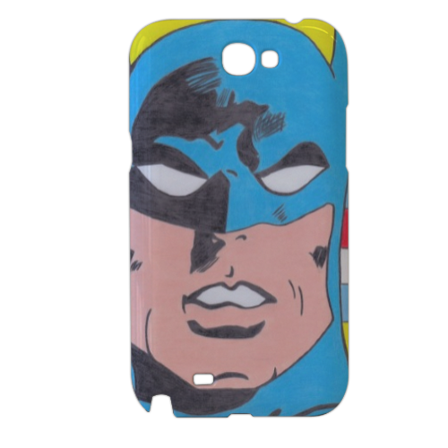 BATMAN 2014 Cover samsung galaxy note2 3d