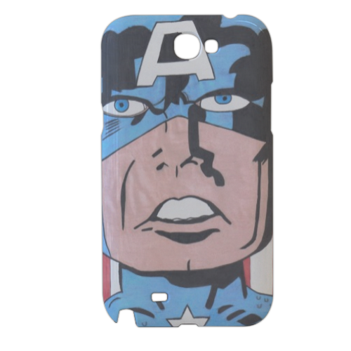 CAPITAN AMERICA 2014 Cover samsung galaxy note2 3d