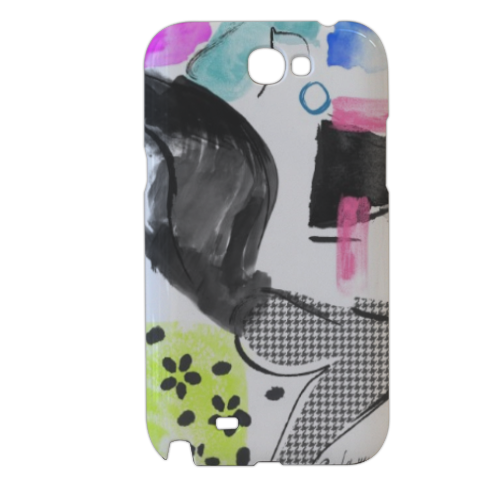 Glamour Cover samsung galaxy note2 3d