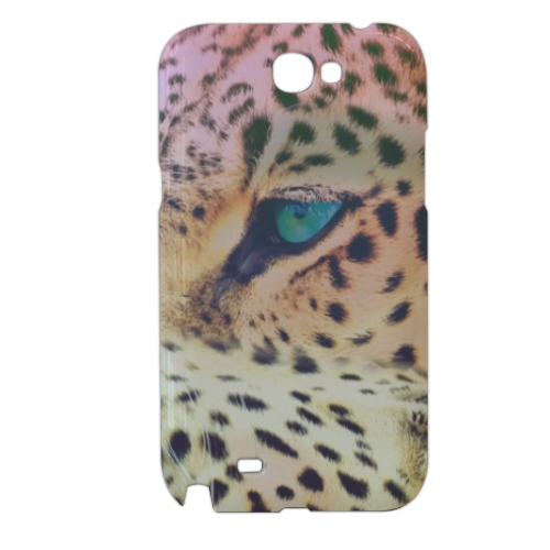 Leopard Cover samsung galaxy note2 3d