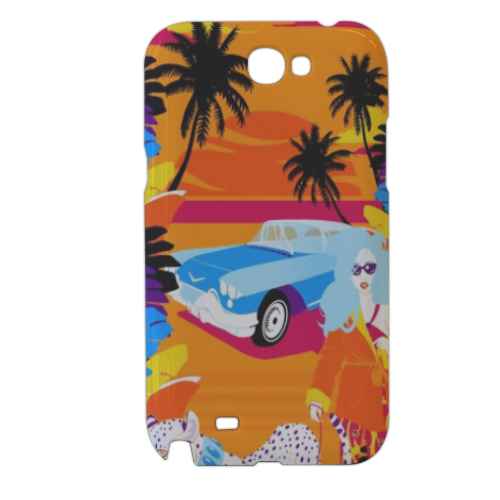 Rich Summer  Cover samsung galaxy note2 3d