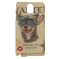 Wanted Rambo Dog Cover samsung galaxy note3 3d