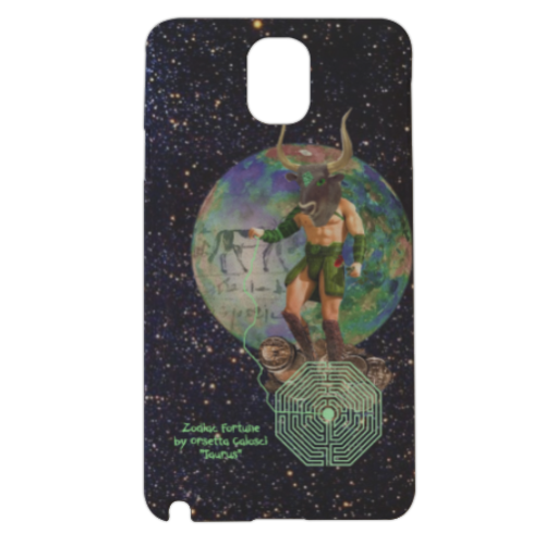 Zodiac Fortune Tau Cover samsung galaxy note3 3d