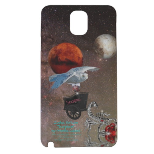 Zodiac Fortune Sco Cover samsung galaxy note3 3d