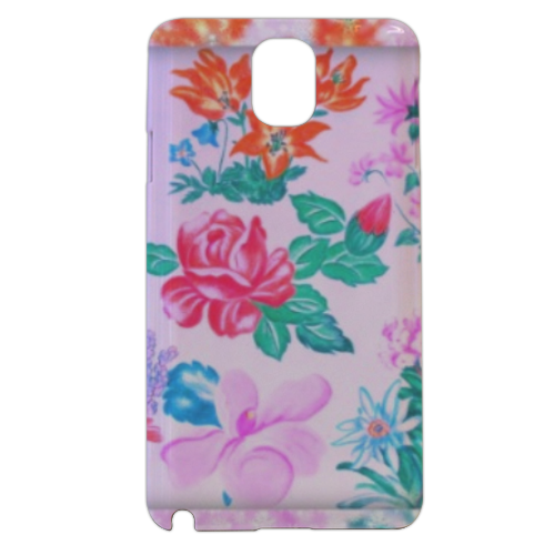 Flowers Cover samsung galaxy note3 3d