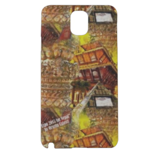 Nepal Padiglione Expo 2 Cover samsung galaxy note3 3d