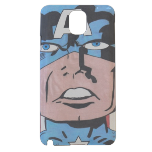 CAPITAN AMERICA 2014 Cover samsung galaxy note3 3d