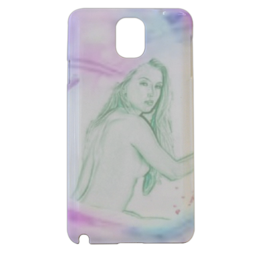 anima nei fior Cover samsung galaxy note3 3d