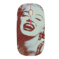 The star's smile Marilyn Mouse stampa 3D wireless