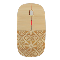 Bamboo and Gothic Mouse stampa 3D wireless
