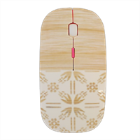 Bamboo and Japan Mouse stampa 3D wireless