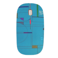 Azzurro Mouse stampa 3D wireless