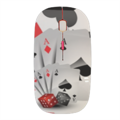 Poker Mouse stampa 3D wireless