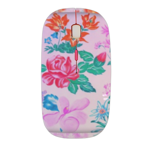 Flowers Mouse stampa 3D wireless