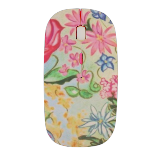 New Flowers Mouse stampa 3D wireless