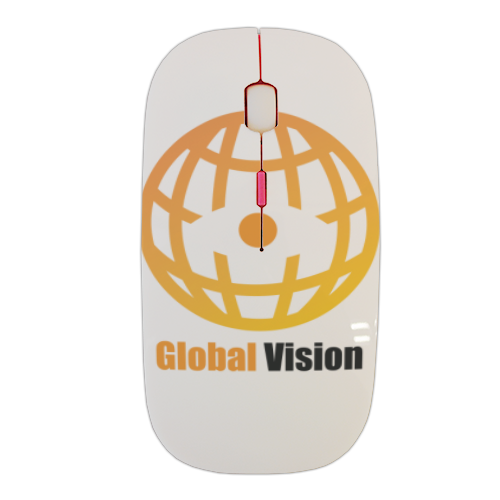 Global vision Mouse stampa 3D wireless