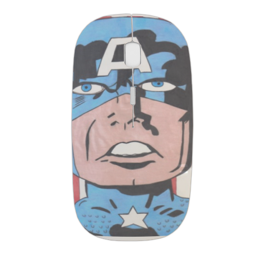 CAPITAN AMERICA 2014 Mouse stampa 3D wireless