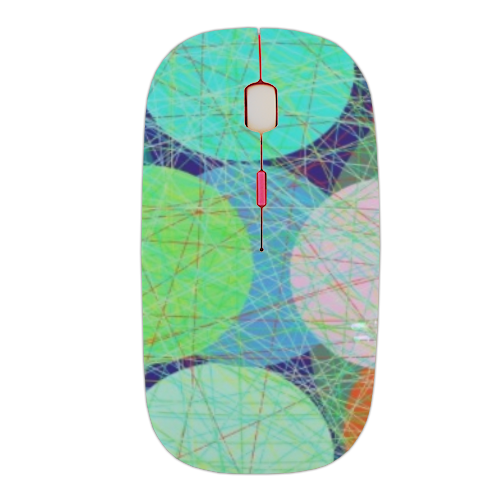 pallini righe Mouse stampa 3D wireless