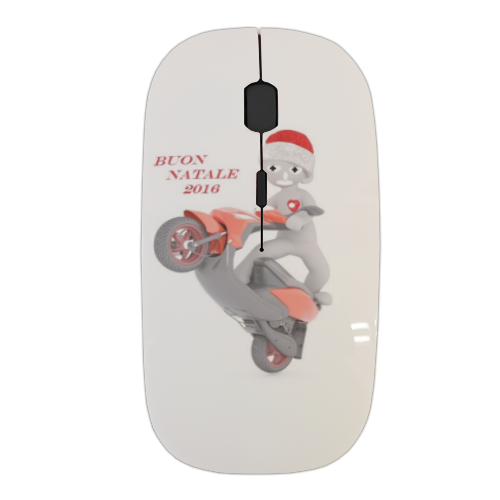 Buon Natale 2016  Mouse stampa 3D wireless