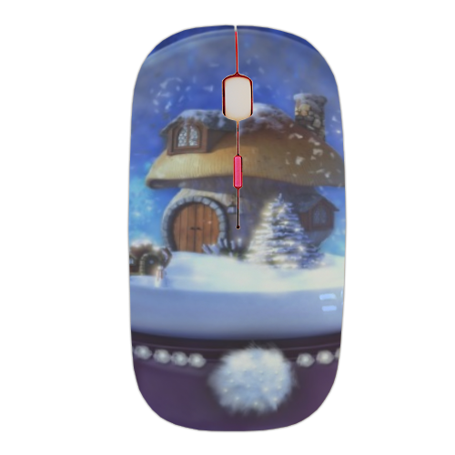 Globo di Neve Fantasy Mouse stampa 3D wireless
