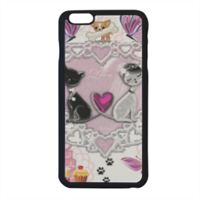 Sweet Love with Dog Cover iPhone 6 plus