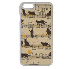 gattini e note musicali Cover iPhone 6