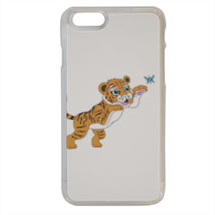 Tigrotto felice che gioca Cover iPhone 6
